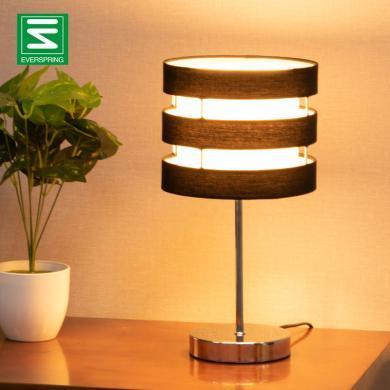 北歐臺燈臥室床頭燈現代簡約美式酒店五金裝飾臺燈