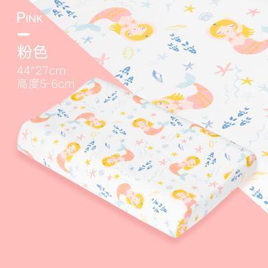 好孩子兒童乳膠枕泰國進口純天然抑菌防螨枕頭學生護頸枕0-2-16歲