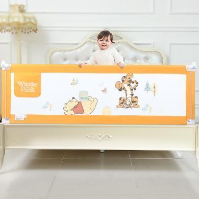 Disney迪士尼單邊升降款床護欄床護欄垂直兒童床圍欄嬰兒防摔掉床邊擋板 厚薄床墊通用 垂直升降-高度68CM (單面裝)YDF-6 SH