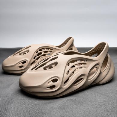 OKKO2020時尚女鞋夏季新款洞洞鞋ins大碼男士涼鞋沙灘情侶運動涼鞋SG-2020