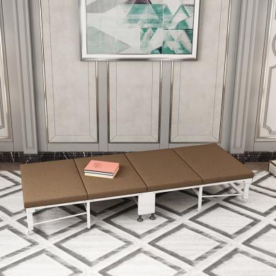雅客集卡瑞娜折疊床(中號70cm)FB-20327 辦公室午睡床 四折床 陪護床