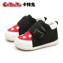 卡特兔学步鞋 童鞋2018新款1-3岁女宝宝鞋小童鞋子男2-5岁学步鞋