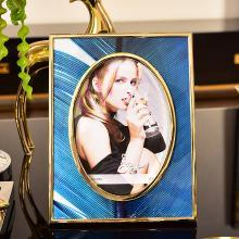 DEVY欧式家居客厅书房卧室床头相框装饰品摆设6寸7寸摆台装饰摆件