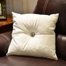 DEVY欧式样板间冰花绒沙发床头抱枕靠腰垫靠枕现代家居布艺摆件