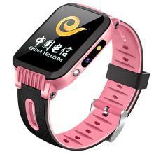 柏族 电信版儿童手表电话手表防水拍照GPS定位手机男女学生智能微