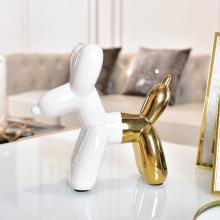 DEVY 北欧创意ins风装饰品气球狗陶瓷家居小摆件现代简约客厅酒柜
