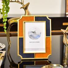DEVY 歐式古典擺臺相框6寸7寸美式家居客廳臥室床頭柜裝飾品擺件
