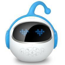 柏族 未来小七儿童APP版智能机器人学习互动陪伴语音早教对话声控