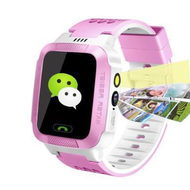 柏族 智能兒童電話手表微聊觸摸屏智能定位語音監護兒童智能手表