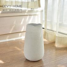 DEVY簡約現代陶瓷花瓶擺件 歐式客廳餐桌水培插花器家居軟裝飾品