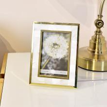 DEVY现代婚纱照全家福照片框6寸7寸贝壳个性创意组合相框摆台相架