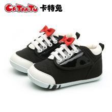 卡特兔女童鞋子2018新款秋男宝宝0-3-5岁宝宝软底学步鞋机能鞋子