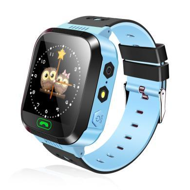 柏族 兒童電話手表微聊觸摸屏智能定位語音監護兒童智能手表手機S