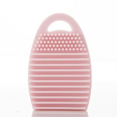 美麗工匠 洗刷蛋brush egg懶人化妝刷硅膠洗刷器清洗工具帶掛鉤