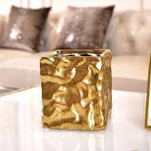 DEVY歐式創意陶瓷花瓶美式客廳餐桌電視酒柜仿真花干花插花器擺件