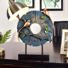 墨菲 歐式創意家居客廳裝飾麋鹿擺件美式玄關工藝品擺設結婚禮物