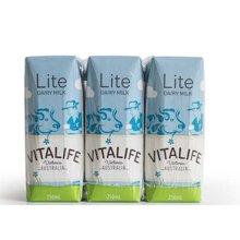 【整箱裝24支】維特萊低脂牛奶(250ml*6)*4