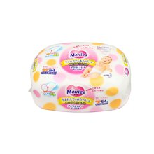 【2盒装】日本Merries 花王婴儿乳液湿巾粉色加厚装(54片)