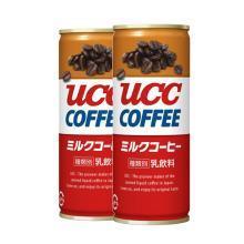 【两罐】UCC悠诗诗牛奶咖啡饮料(250g)*2