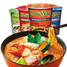 泰国进口 养养杯面70g四杯装 学生办公室充饥泡面方便速食品