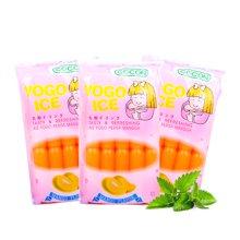 馬來西亞進口 COCON可康優果芒果味棒棒冰450ml*3袋 可吸水果飲料吸吸碎碎冰懷舊兒時童年零食夏季日水果汁
