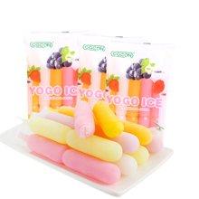 馬來西亞進口 COCON可康優果多口味棒棒冰450ml*3袋 可吸水果飲料吸吸碎碎棒棒冰懷舊兒時童年零食夏季日水果汁