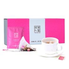 优茶一笙玫瑰花红茶袋泡茶干玫瑰组合花草茶两盒促销装
