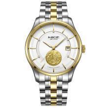 米格MIGE传承系列情侣表进口机芯防水时尚手表全自动机械表金表男
