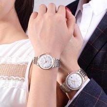 飞克情侣表一对价超薄机械表全自动简约防水时尚DW钢带手表潮正品