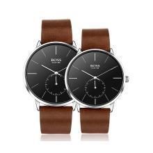 BOSS手表 简约系列三针石英机芯时尚手表BX12情侣对表