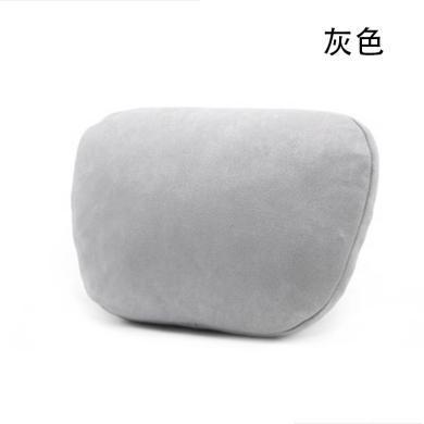 米彤 fang皮絨邁巴赫S款汽車頭枕車用護頸枕車載頭枕軟靠枕