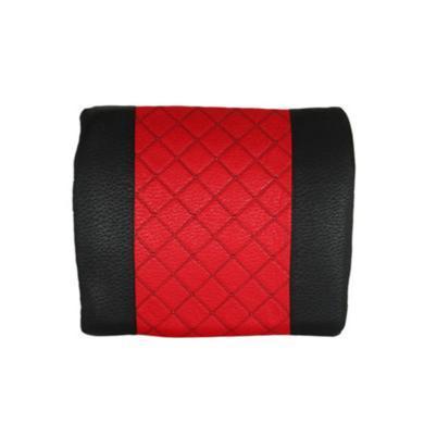 卡飾得 反真絲腰靠 繡花成型背靠 彈力棉腰枕 活性炭腰靠 多用途