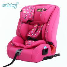 rukky 车载汽车儿童安全座椅适用9个月-12岁的isofix接口 C112
