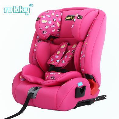 rukky 車載汽車兒童安全座椅適用9個月-12歲的isofix接口 C112