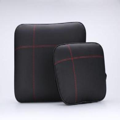米彤 汽車頭枕 腰靠護頸枕級邁巴赫枕頭車載用品頭枕腰靠套裝