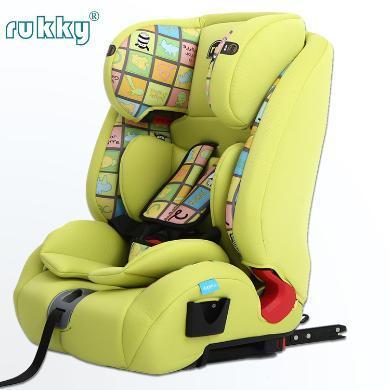 rukky 車載嬰兒寶寶汽車用兒童安全座椅ISOFIX硬接口內置鋼骨架 3