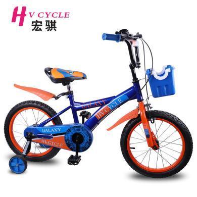 HV CYCLE 宏骐新款5-8岁儿童自行车16寸 儿童户外运动?#30424;?#33258;行车单车