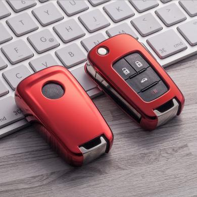 親藍 TPU車鑰匙包適用于別克君威英朗/雪佛蘭科魯茲科帕奇邁銳寶探界者
