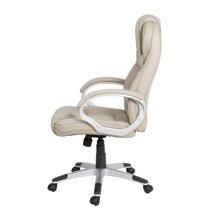 雅客集布莱恩浅灰色博士办公椅FB-14139  舒适老板椅 中班椅
