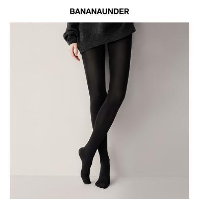 BANANAUNDER蕉下薄款防曬絲襪防勾絲打底大碼黑色春秋光腿連褲襪 現貨