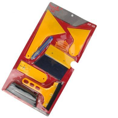 卡飾得 汽車貼膜工具套裝 7件套 刮板 縫隙刀 美工刀 鋼刀 壓塊