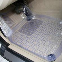 卡饰得 地胶垫 PVC脚垫 盆型 环保材料 坚固耐磨防滑 5件套 3KG
