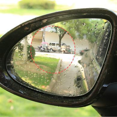 卡飾得 汽車后視鏡防雨膜 側窗防起霧膜 防反光炫光膜 納米驅水膜 圓形10CM 對裝*2個
