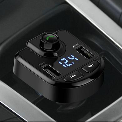車載藍牙MP3播放器 音樂車充 4.2藍牙免提 語音導航 電壓檢測 雙USB3.6A快速充電