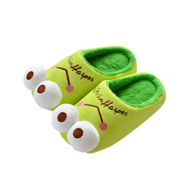智庭 卡通可愛親子款兒童棉拖鞋女 秋冬保暖防滑室內家居一家三口寶寶棉拖鞋
