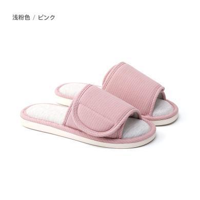 樸西/posee居家情侶棉麻拖鞋 室內靜音軟底舒適防滑親膚透氣拖鞋
