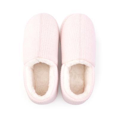 朴西 家居情侣全包跟棉拖鞋男室内居家防滑厚?#22918;?#26262;月子拖鞋女冬