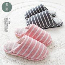 朴西情侣新款冬季家居室内防滑包头卧室拖鞋