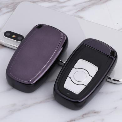 親藍 TPU汽車鑰匙殼適用于長城哈弗H6 智能鑰匙運動版升級版哈佛h6