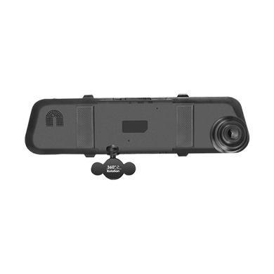 亮视线 三录车载记录仪 360度旋转后视镜行车记录仪